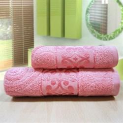 """Махровое полотенце """"Роксолана"""" роз 33x70"""