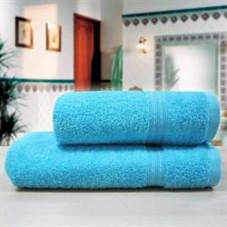 """Махровое полотенце """"Таис"""" аква 33x70"""