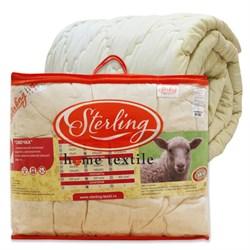 """Одеяло """"Стерлинг"""" овечья шерсть 1.5-Спальное спальное 140x205"""