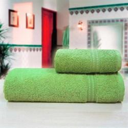 """Махровое полотенце """"Таис"""" зел. 70x140"""
