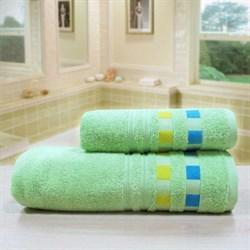 """Махровое полотенце """"Каприз"""" зелен. 45x90 (Х)"""